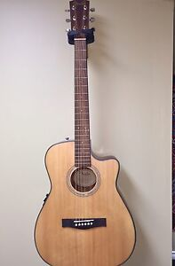 Fender CF100-CE Natural Folk w/ Electronics