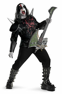 Metal Mayhem Shirt Adult Costume Detachable Shoulder Armor Halloween Disguise