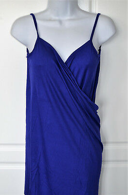 - SWIMSUIT COVER UP ROYAL BLUE Beach Wrap Dress NEW SExy ONE SIZE $38  S M L NWT