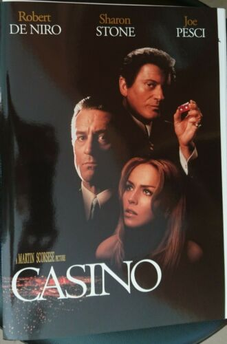 Casino Movie Film UK Press Pack Media Kit Robert De Niro Sharon Stone