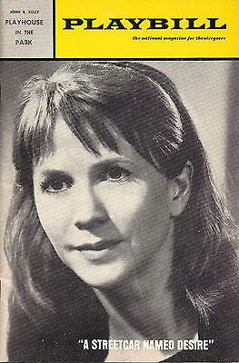 "Julie Harris ""A STREETCAR NAMED DESIRE"" Tennessee Williams 1967 Playbill"