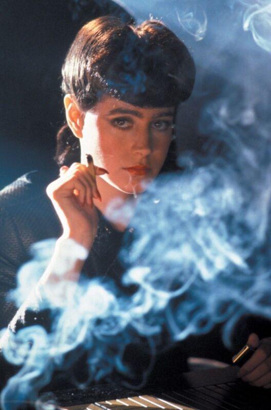 Harrison Ford Blade Runner Smoking 8x10 Photo Print