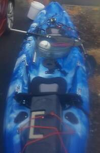 Crazy kayak tandem fishing kayak Albion Park Shellharbour Area Preview