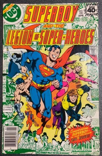 SUPERBOY and the LEGION of SUPER-HEROES #250 DC Comic