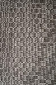 New Braid Waffle Flatweave Brown Geometric Design Wool Rugs Melbourne CBD Melbourne City Preview