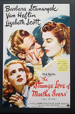 STRANGE LOVE MARTHA IVERS Oscar Academy Noir Program Stanwyck Douglas Heflin