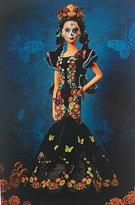 Dia De Los Muertos Day Of The Dead Collector's Limited Edition Barbie Doll
