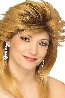 Female Pop Star Halloween Costumes (Car Dealer Wig synthetic female prom model actress costume theatrical Rubies)