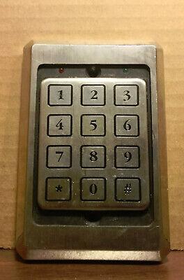 Essex Ktp-103-sn Access Control Keypad Reader 26-bit Wiegand