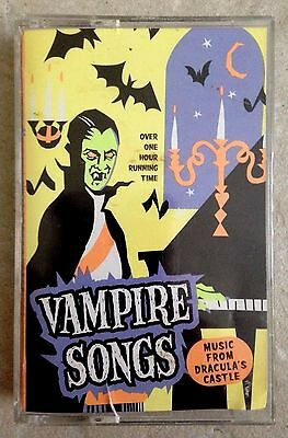 Dracula S Castle Halloween (VAMPIRE SONGS MUSIC FROM DRACULA'S CASTLE K-TEL HALLOWEEN HAUNTED HOUSE Cassette)