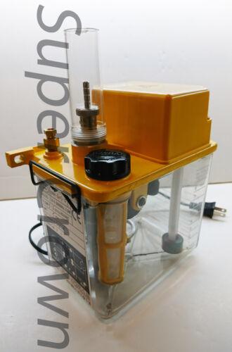 CHIBA CNC SMA-601-5F 110V 2L FLOAT-SWITCH PRESSURE RELIEF LUBRICATION PUMP CE