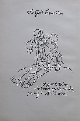 Thomas Derrick BARMHERZIGER SAMARITER 1931 Buchillustration 2 Drucke prints #8 online kaufen