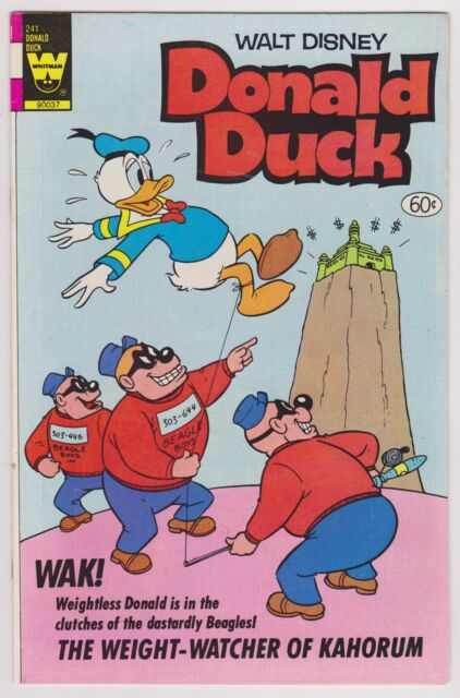Donald Duck #241, Near Mint Minus Condition.