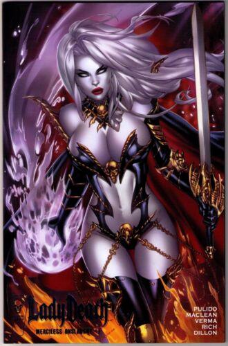 Lady Death Merciless Onslaught #1 Exclusive EBAS Premium Foil Variant!