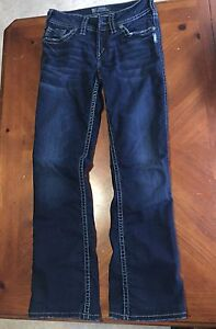 3 pairs Silver Jeans, size 25 Edmonton Edmonton Area image 7