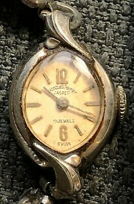 f1580d07f RARE Vintage Jacques Poirier Jasper 17 Jewels Women's Swiss Watch -  Functional