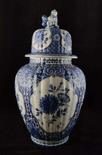 Delft Maastricht Royal Sphinx Vase - 45 cm (Q0038)