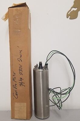 Centripro 4 Submersible Motor 34 Hp 230v 1 Ph 2 Wire 5 Amps M07422-01
