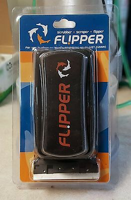 Flipper Standard Medium Magnetic Algae Cleaner For Glass or Acrylic Aquarium