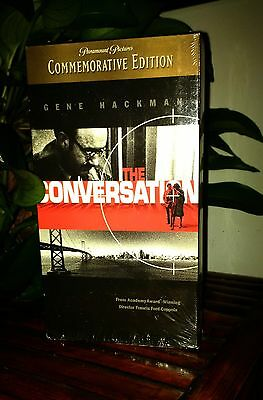 THE CONVERSATION vhs / Gene Hackman / Rare Commemorative Edition / Like New