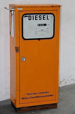 Diesel-Zapfsäule Tanksäule Dieselsäule Zapfanlage, Scheidt & Bachmann *8916*