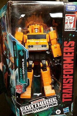 TRANSFORMERS ~ EARTHRISE ~ WAR FOR CYBERTRON ~ GRAPPLE ~ WFC-E10 VOYAGER CLASS