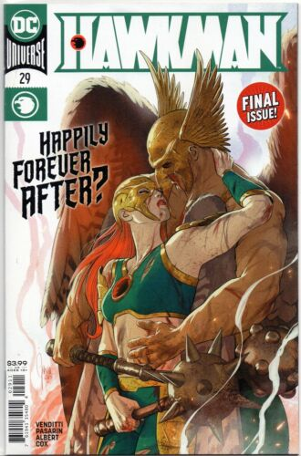 Hawkman #29 (DC 2020, final issue of series)