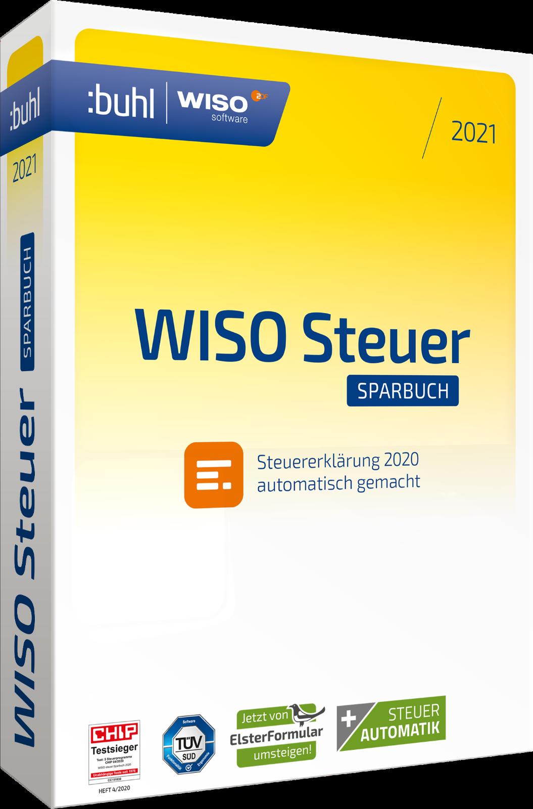 WISO steuer:Sparbuch 2021 für das Steuerjahr 2020 ESD ...