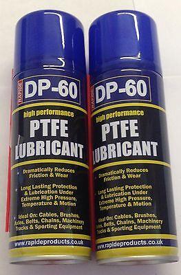 Bicycle bike PTFE lubricant lube oil spray chain 200 ml X 2