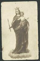 Postal Antigua Maria Auxiliadora Andachtsbild Santino Holy Card Santini -  - ebay.es