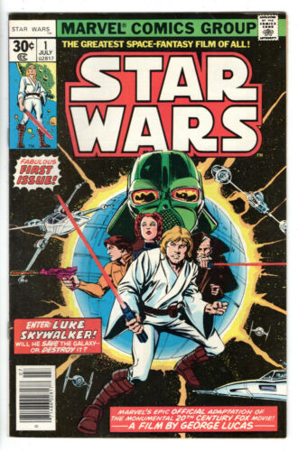 STAR WARS #1 (1977) - Grade 8.5 - 1st issue!