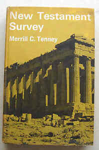 NEW-TESTAMENT-SURVEY-1970-Merrill-C-Tenney-Inter-Varsity-Press-HB-VGC-UK-1st-ed