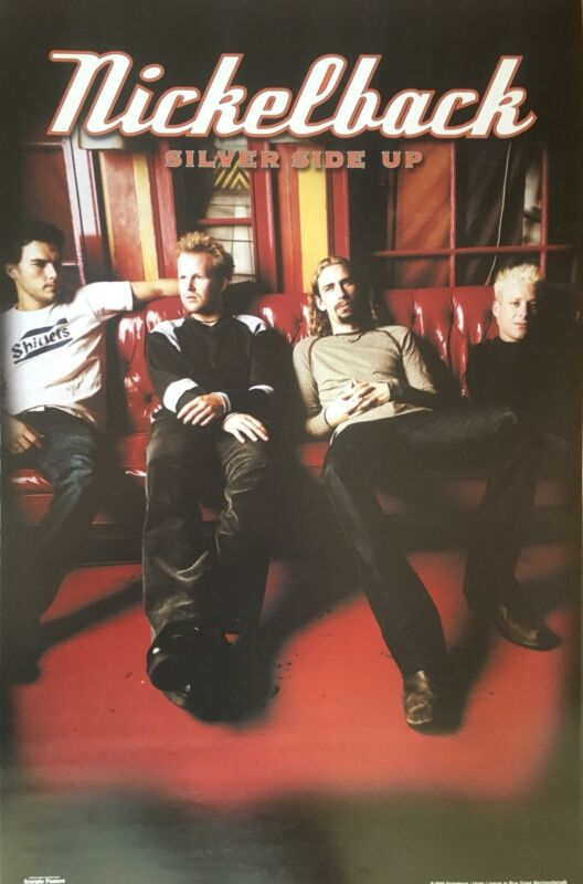 Nickelback Silver Side Up Album  Poster 22 x 34.5