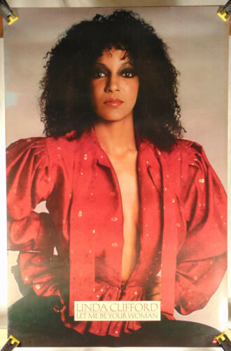 LINDA CLIFFORD--Let Me Be Your Woman--Promo Poster