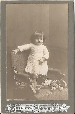 CAB photo Niedliches kleines Mädchen - Österreich 1917