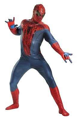 The Amazing Spiderman Theatrical Quality Adult Costume - Theatrical Quality Costumes