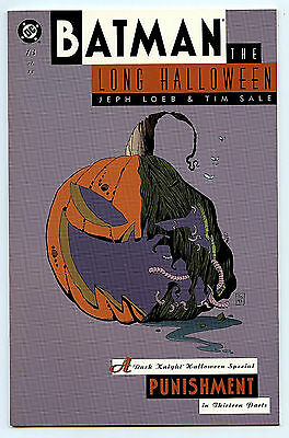DC Comics Batman The long Halloween Part 13 NM+ tpb 1st print 1997 - Halloween 8 Part 1
