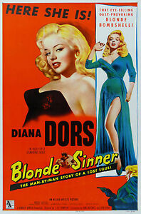 Blonde-Sinner-Diana-Dors-Classic-Movie-Poster-A1A2A3A4-Sizes