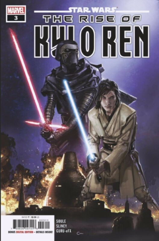 STAR WARS RISE OF KYLO REN #3 COVER A 2/12/2020 FREE SHIPPING AVAILABLE
