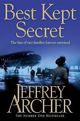 JEFFREY ARCHER ____ BEST KEPT SECRET ____ BRAND NEW  ___ FREEPOST