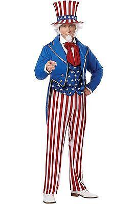 Uncle Sam Patriotic America Adult Costume