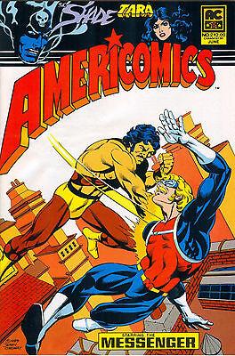 Americomics #2 - June 1983 $2.00 - AC Comics, Jerry Ordway cover art