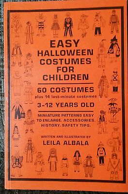 Halloween Cosplay Idea (60 Easy Halloween Costumes For Children DIY Ideas Cosplay 1987 Vintage OOP)