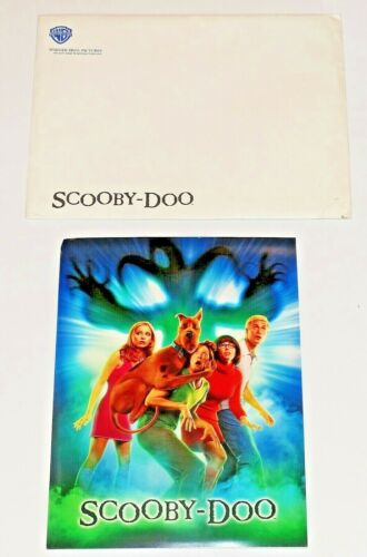 Scooby Doo Promotional Press-book, w/Digital Press Kit Warner Bros Folder 2002