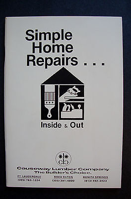 simple home repairs inside & out causeway lumber
