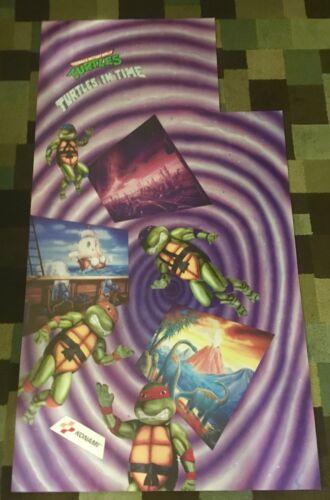 Teenage Mutant Ninja Turtles in Time Arcade Side Art Artwork Decal TMNT Konami