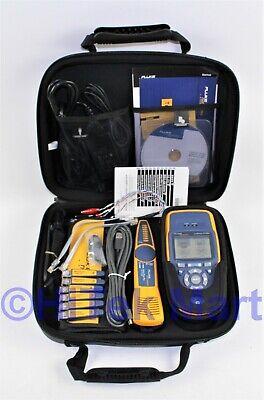 Fluke Networks Linkrunner At-2000 Auto Tester W Intellitone Pro 200 Lrat-2000