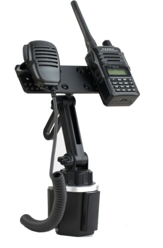 New Cup Holder Mount And Multi Device Holder For BaoFeng Icom Kenwood Yaesu HT