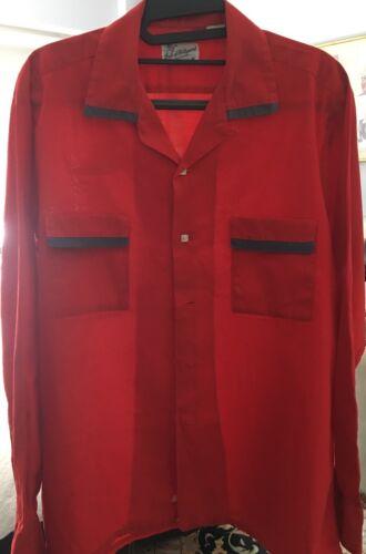 Vintage Duke of Hollywood  50s-60s Dress Shirt