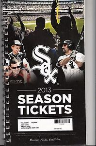 2013-CHICAGO-WHITE-SOX-SEASON-TICKET-BOOK-STUB-SET-ALL-81-GAMES